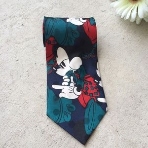Vintage Disney Mickey Mouse Saxophone Neck Tie